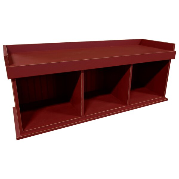 Wood Storage Bench by Sawdust City