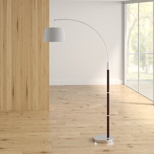 Online Reviews Sedlak 80.5 Arched Floor Lamp By Brayden Studio