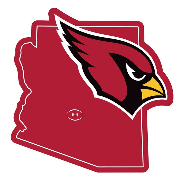 NFL Arizona Cardinals Home State Magnet by Siskiyou Products