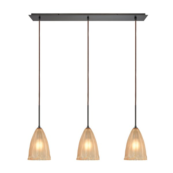 Mejorado 3-Light Kitchen Island Pendant by Bay Isle Home
