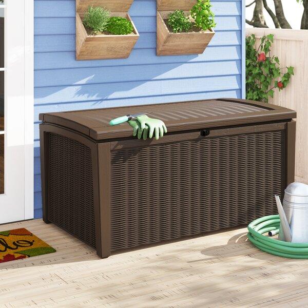 Borneo 110 Gallon Resin Deck Box By Keter