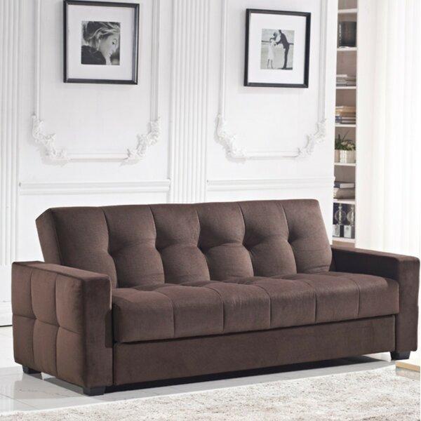 Ferrell Storage and Pocket Coil Spring Cushion Sleeper by Ebern Designs