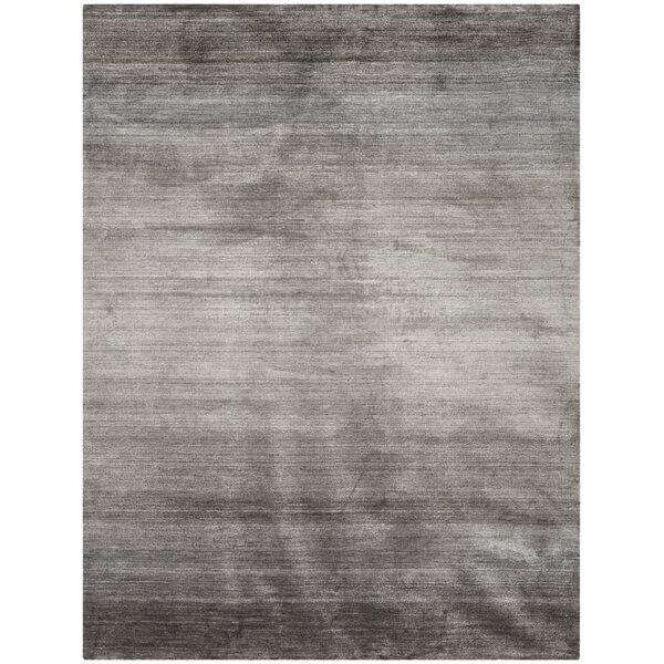 Madrigal Hand-Woven Gray Area Rug by Brayden Studio