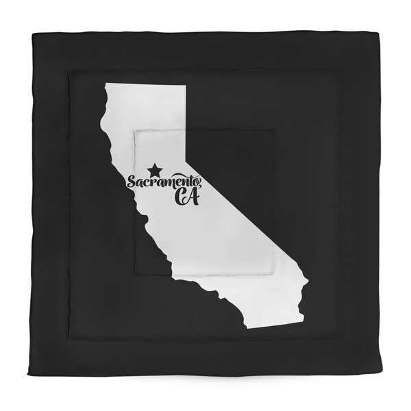 California Sacramento Single Reversible Comforter