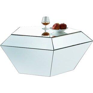 Find Nevarez Mirrored Coffee Table ByHouse of Hampton