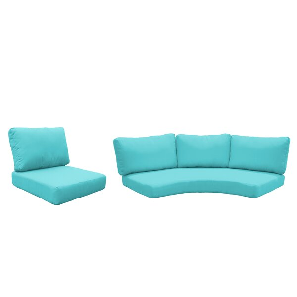 Waterbury 14 Piece Indoor/Outdoor High Back Cushion Cover Set
