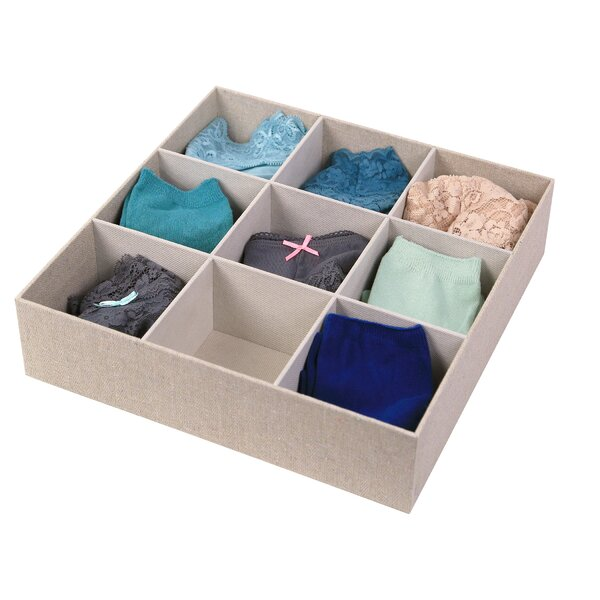 2.5H x 12.1W x 12.1D Drawer Organizer by Richards Homewares