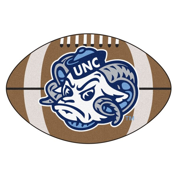 NCAA University of North Carolina - Chapel Hill Football Doormat by FANMATS