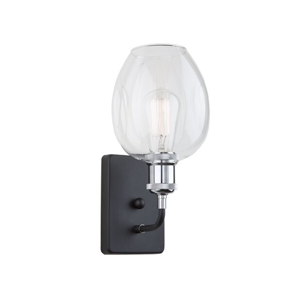 Clearwater 1-Light Armed Sconce by Artcraft Lighting
