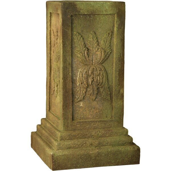 Julian Square Outdoor Pedestal by OrlandiStatuary