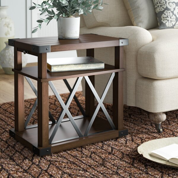 Bridget Floor Shelf End Table With Storage By Birch Lane™ Heritage
