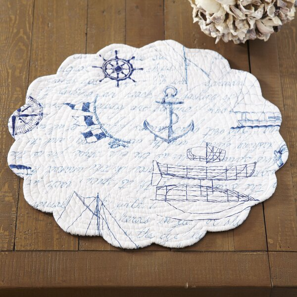Tradewinds Round Placemat (Set of 6) by Birch Lane™