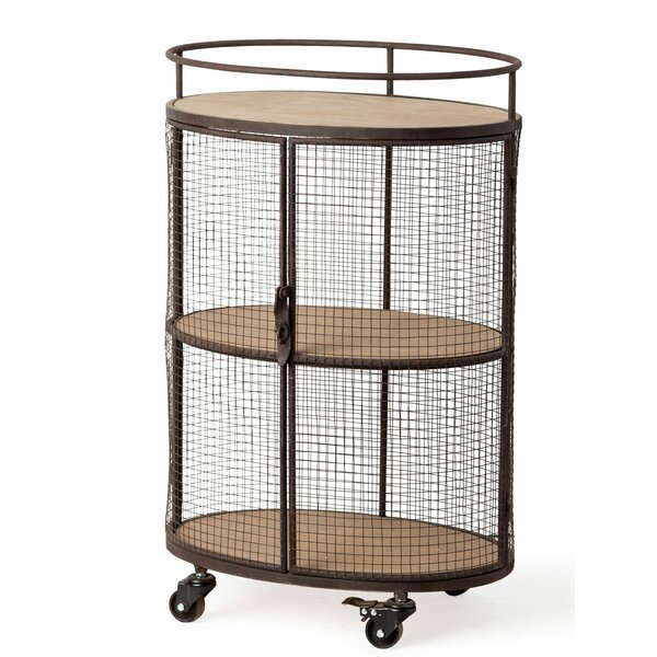 Brooten Edna Rolling Bar Cart By Williston Forge