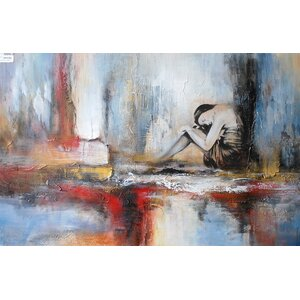 Abstract Painting on Canvas by Latitude Run