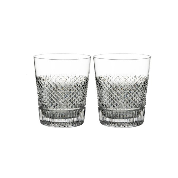 Diamond Line DOF 10 oz. Crystal Cocktail Glasses (Set of 2) by Waterford