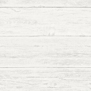 Shiplap 18 X 205 Wood Wallpaper Roll