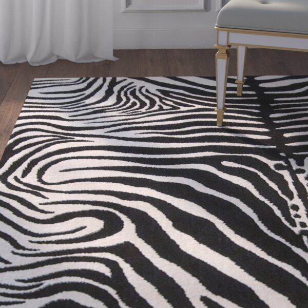Rinaldi Black/White Area Rug by Willa Arlo Interiors