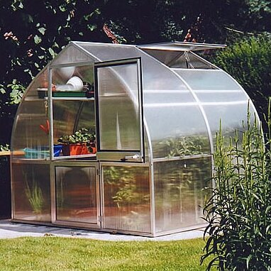 Riga Iis 7.67 Ft. W x 7 Ft. D Greenhouse by Hoklartherm