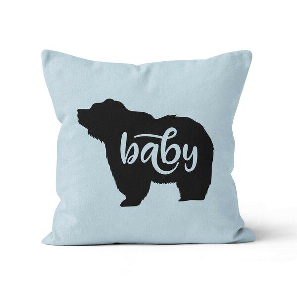 Baby Bear Nursery Throw Pillow by Ziya Blue