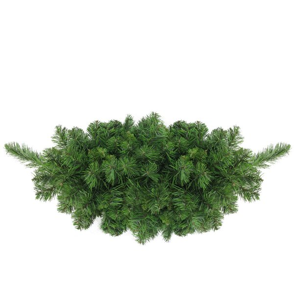 Lush Mixed Pine Artificial Christmas Swag by The H