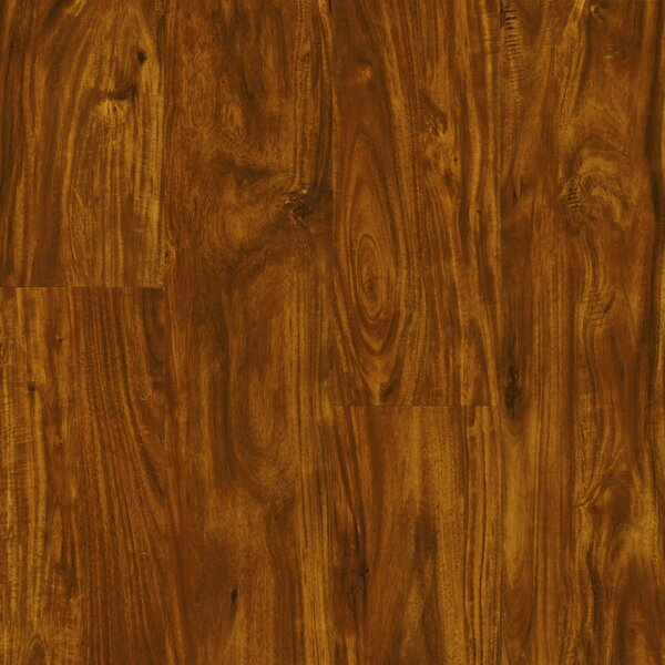 Luxe Rigid Core 6 x 48 x 7.88mm Acacia WPC Luxury Vinyl Plank in Cinnabar by Armstrong Flooring