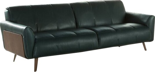 Super Natuzzi Editions Tobia Leather Sofa | Wayfair KH39
