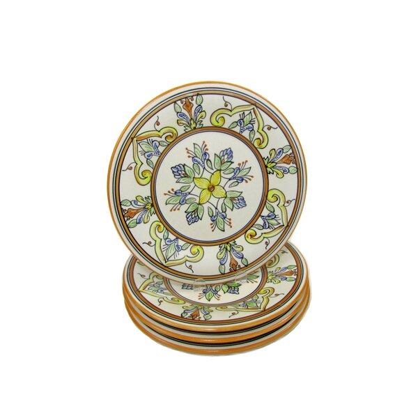 Salvena Stoneware 11 Dinner Plate (Set of 4) by Le Souk Ceramique