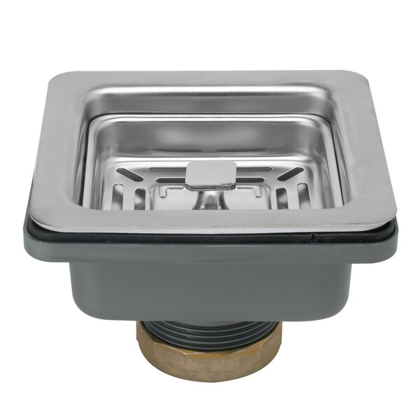 Multi Layer Square 3.5 Lift and Turn Kitchen Sink Drain by AKDY