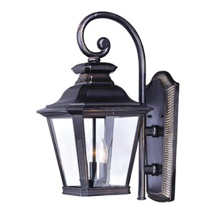 Reviews Sunbury 3-Light Outdoor Wall Lantern By Darby Home Co