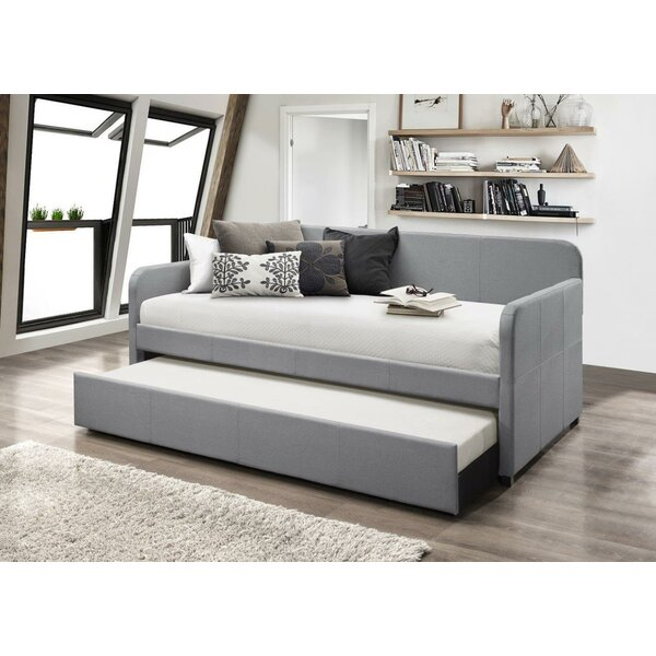 Maple Twin Daybed with Trundle by Andover Mills