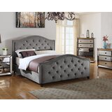 Lilly Upholstered Platform Bed byCanora Grey