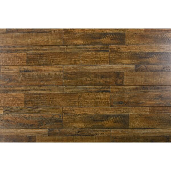 Steve 7.6 x 48 x 12mm Oak Laminate Flooring in Rustic Comodo by Serradon