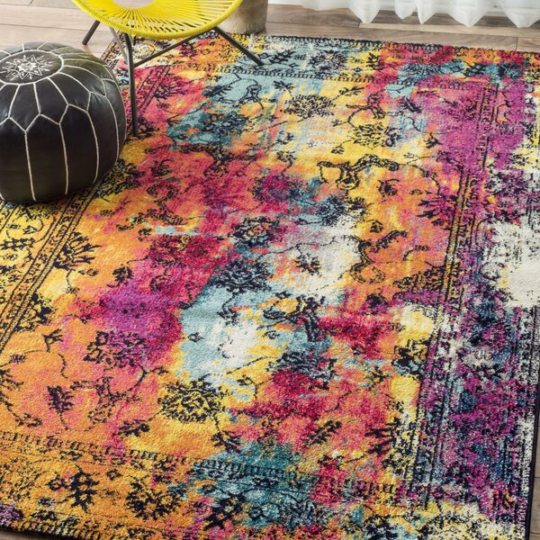 Horak Area Rug by Bungalow Rose