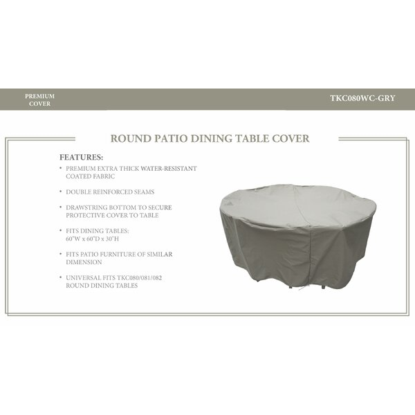 Oasis Patio Dinning Table Cover by TK Classics