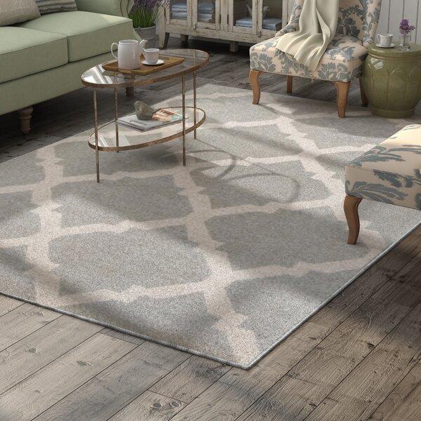 Arbonne Gray Indoor/Outdoor Area Rug by Lark Manor