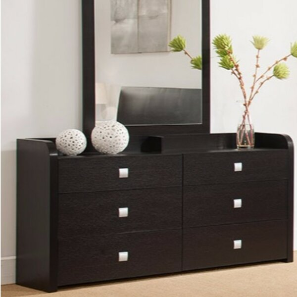 Disanto 6 Drawer Double Dresser by Latitude Run