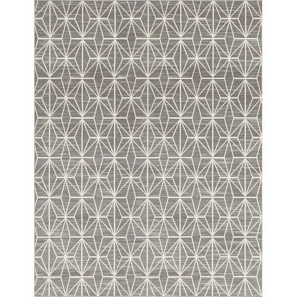 Uptown Fifth Avenue Gray Area Rug by Jill Zarin™