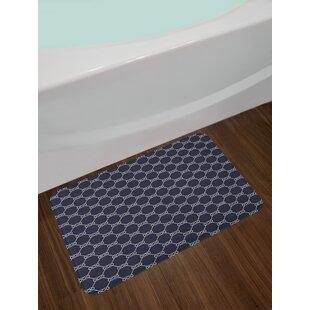 Charmant Navy Navy Blue Bath Rug
