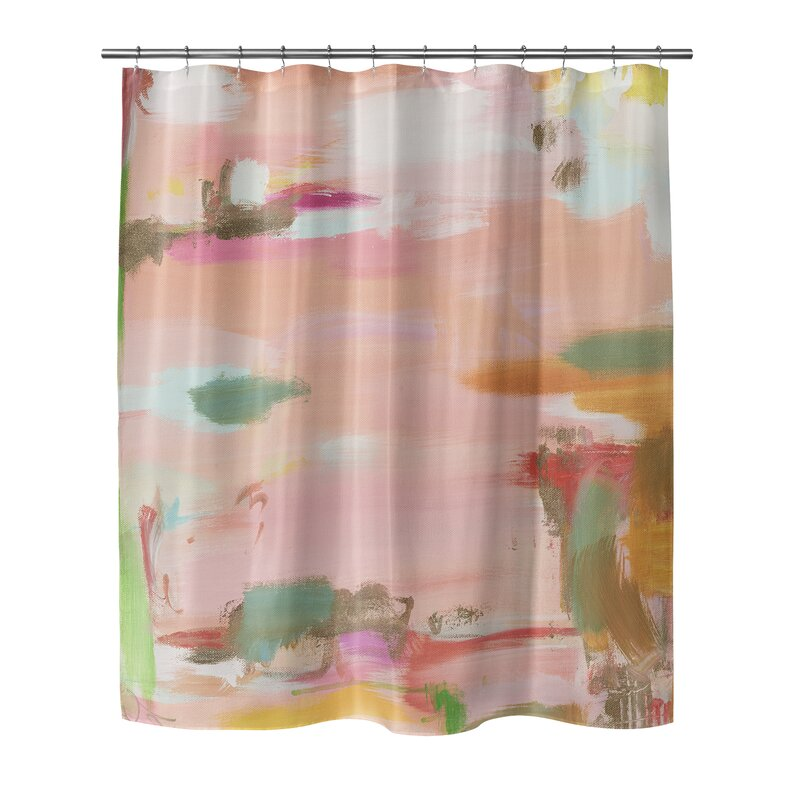 Online Fishing Shower Curtain