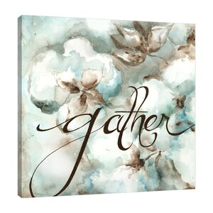 'Gather' by Tre Sorelle Studios Graphic Art on Wrapped Canvas by Jaxson Rea