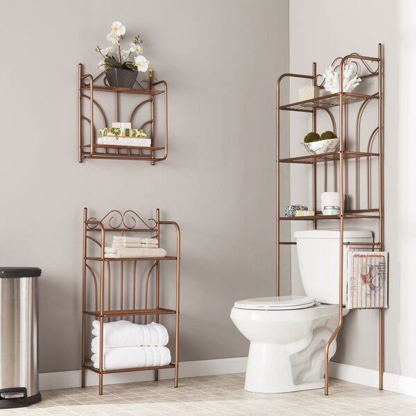 Panama 16.5 W x 20 H x 7 D Free-Standing Bathroom Shelves