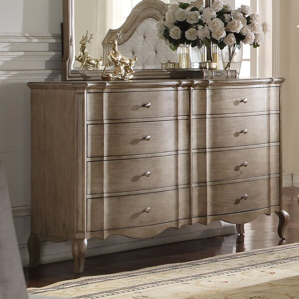 Adler 8 Drawer Double Dresser by One Allium Way