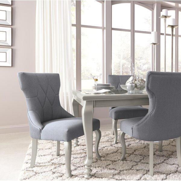 Guillaume Upholstered Dining Chair (Set of 2) by Willa Arlo Interiors Willa Arlo Interiors