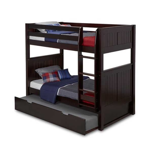 Rabon Twin over Twin Bunk Bed with Trundle by Harriet Bee