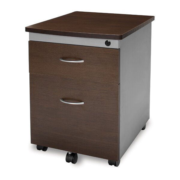 Modular 2-Drawer Mobile Filing Cabinet by OFM