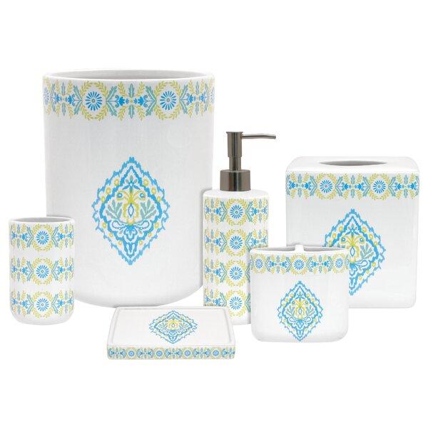 Dena Diamond 6-Piece Bathroom Accessory Set by R Squared