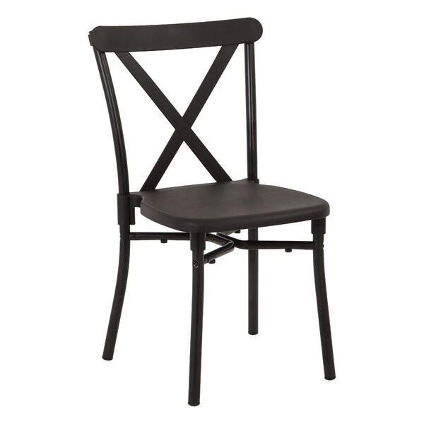 X-Back Guest Armless Stacking Chair (Set of 4) by Office Star Products