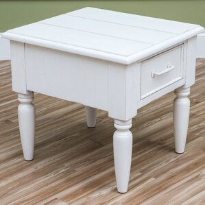 Tottenham Square End Table by Beachcrest Home