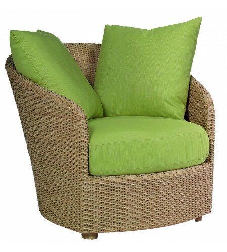 Oasis Patio Chair with Cushions by Woodard Woodard