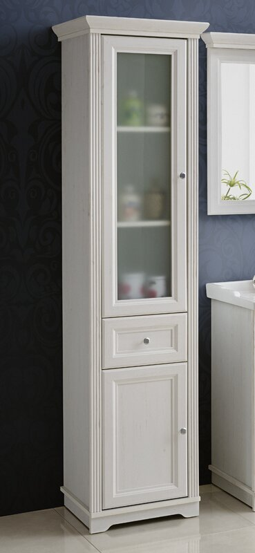 Palace Andersen 43 X 185cm Freestanding Tall Bathroom Cabinet